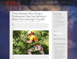 oracle-developer.com screenshot