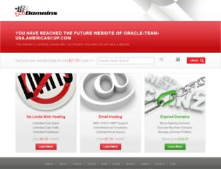 oracle-team-usa.americascup.com screenshot