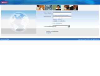 oracle.monarch.co.uk screenshot
