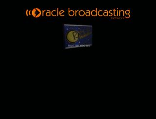 oraclebroadcasting.com screenshot