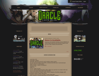 oraclefiesta.shivtr.com screenshot