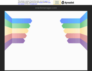 oraclemanager.com screenshot