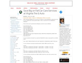 oracleracexpert.com screenshot