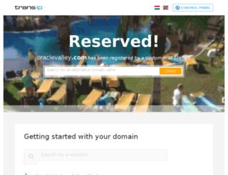 oraclevalley.com screenshot