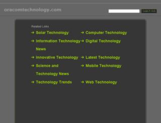 oracomtechnology.com screenshot