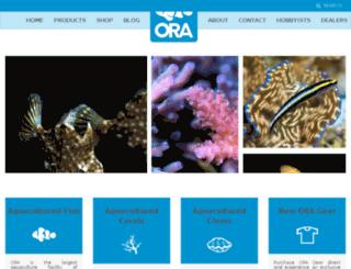 oracorals.com screenshot