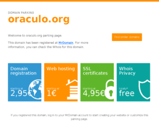 oraculo.org screenshot