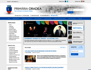 oradea.ro screenshot