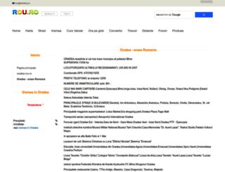 oradea.rou.ro screenshot