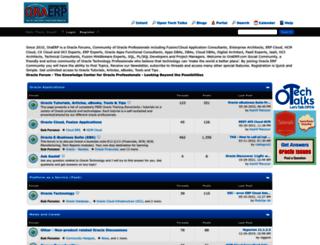 oraerp.com screenshot