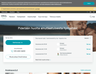 oral.fi screenshot