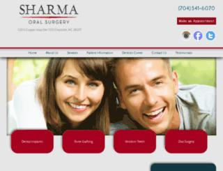 oralfacialandimplantsurgerycenter.com screenshot