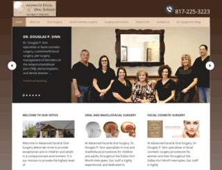 oralfacialsurgerydfw.com screenshot