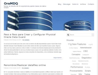 oramdq.com screenshot