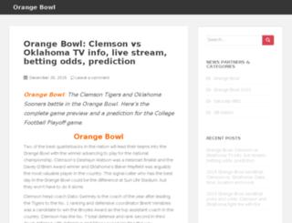 orange-bowl.com screenshot