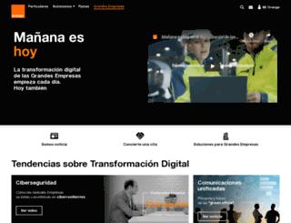 orange-business.es screenshot