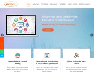orange-itconsulting.com.au screenshot