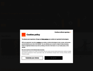 orange.co.uk screenshot