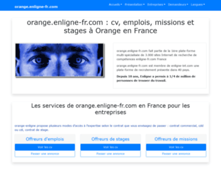 orange.enligne-fr.com screenshot