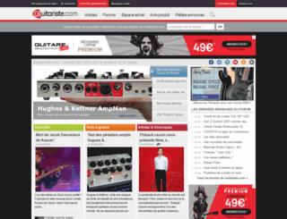 orange.guitariste.com screenshot