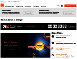 orange.sn screenshot