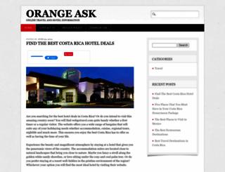 orangeask.com screenshot