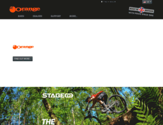 orangebikes.co.uk screenshot