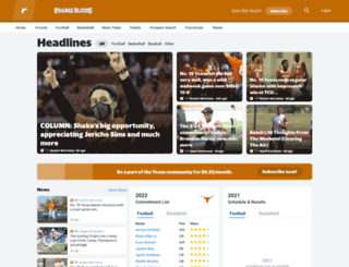 orangebloods.com screenshot