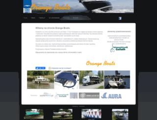 orangeboats.eu screenshot