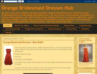 orangebridesmaiddresseshub.com screenshot
