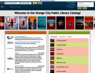orangecity.biblionix.com screenshot
