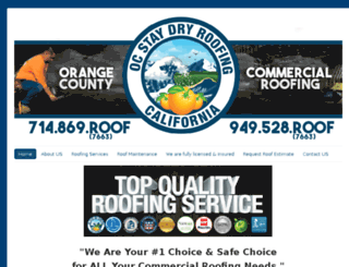 orangecountycommercialroofingcompany.com screenshot