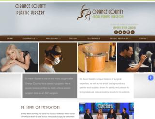 orangecountynosejob.com screenshot