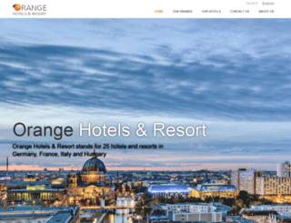 orangehotels.de screenshot
