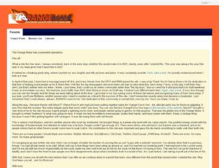 orangemane.com screenshot