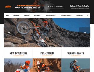 orangemotorsports.ca screenshot