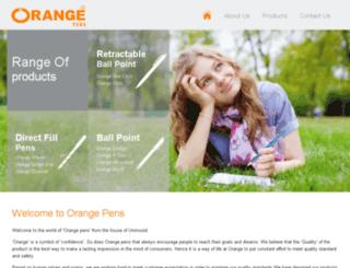 orangepens.co.in screenshot
