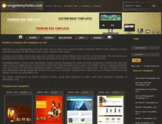 orangetemplates.com screenshot