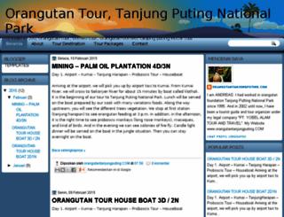 orangutantour.net screenshot