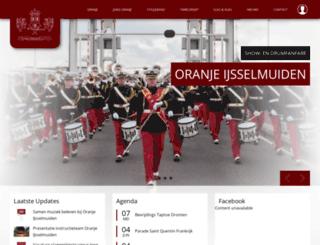 oranje-ijsselmuiden.nl screenshot