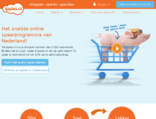 oranje.ippies.nl screenshot