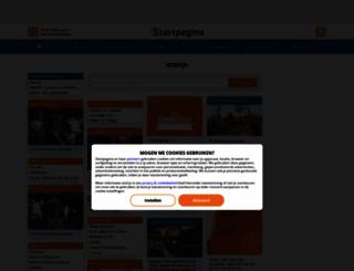 oranje.pagina.nl screenshot