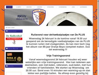 oranjeboys.nl screenshot