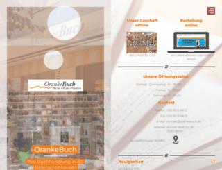 orankebuch.de screenshot