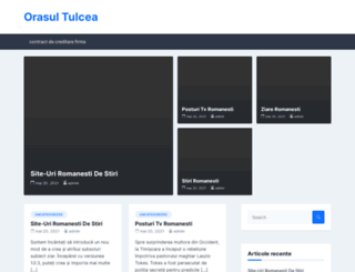 orasul-tulcea.ro screenshot