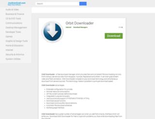 orbit-downloader.joydownload.com screenshot