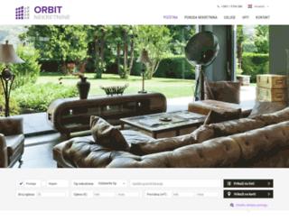orbit-nekretnine.hr screenshot