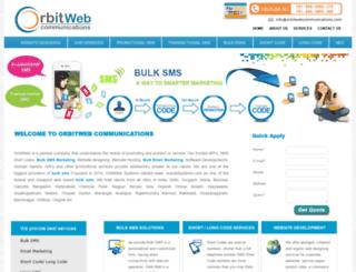 orbitwebcommunications.com screenshot