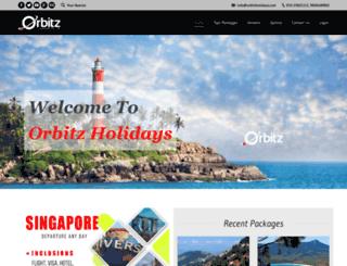 orbitzholidays.com screenshot