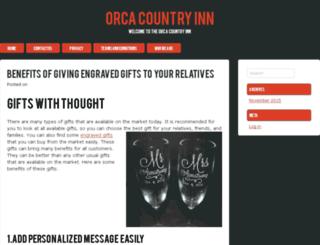 orcacountryinn.co.uk screenshot